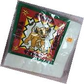 Vintage 16 Pack LION KING Simba LUNCH NAPKINS  PARTY