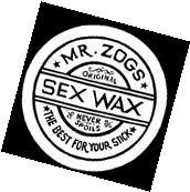 """2.5"""" Vintage style Mr. Zogs SEX WAX STICKER. Surfing"""