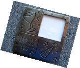 Vintage Ring In New Millennium 2000 Pewter Picture Frame 5-3