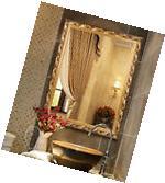 Hans&Alice Vintage Large Wall Mirror In Baroque Gold 32''X24