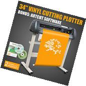 "34"" VINYL CUTTER SIGN CUTTING PLOTTER W/STAND DESIGN/CUT"