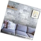 Vinyl Wallpaper modern wallcovering cities new york gray