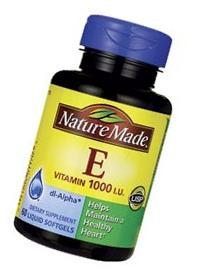 Nature Made Vitamin E 1,000 IU Softgels, 60 ct