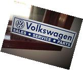 Volkswagen Sales Servicem Parts SIGN VW Bug Bus Bettle