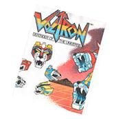 VOLTRON VINTAGE PAPER TABLE COVER ~ Birthday Party Supplies