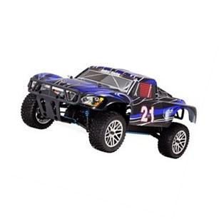 REDCAT RACING VORTEX SS 1/10 SCALE NITRO DESERT TRUCK RED 2