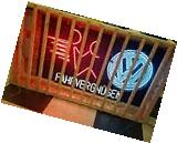 VW Dealership Showroom Fahrvergnugen Neon Sign 5' x 3'