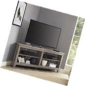 "We Furniture W58CCRAG 58"" Wood Tv Media Stand Storage"