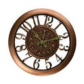 Wall Clock Home Decor Retro Large Numbers Design Office