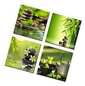 Wall Art Contemporary Picture Zen Giclee Canvas Prints Photo