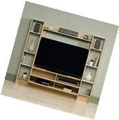 Wall Shelving System Entertainment Center Media Stand TV