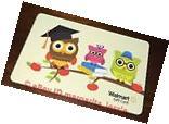 "WALMART US NEW GIFT CARD OWLS ON APPLE TREE ""GRADUATION 2017"