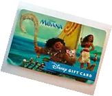 WALT DISNEY MOANA Movie GIFT CARD, NO CASH VALUE. HAWAII