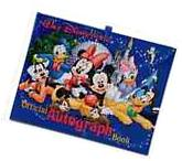 Official Walt Disney World Parks and Resorts Autograph Book