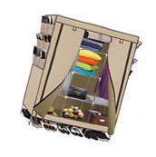 "69"" Wardrobe Portable Closet Storage Organizer Clothes Shoe"