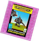 Warhammer 40K Chaos Space Marine Dreadnought, Metal - OOP -