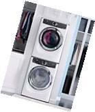 "Electrolux 27"" Washer, Electric Dryer & Stacking Kit,"