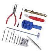 16pcs Watch Repair Tool Kit Band Pin Strap Link Remover Back