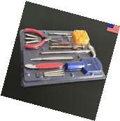 16Pcs Watchmaker Watch Repair Tools Kit Back Case Opener