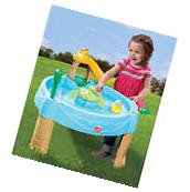 Water Play Table Outdoor Backyard Activity Toy Kids Toddler