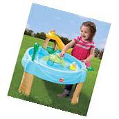 Water Play Table Outdoor Backyard Activity Toy Kids Toddler Splash Slide Sand