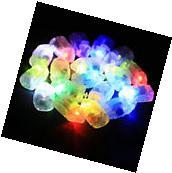 10 Pcs Waterproof LED Light For Paper Lantern Lamps Ballon
