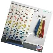 Waterproof Polyester fabric Shower Curtain Bathroom Bath