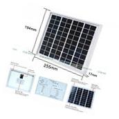 5W 12V Waterproof Solar Panel 5Watt PV Solar Power Outdoor