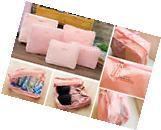5 PCS Waterproof Storage Bags Travel Luggage Organizer