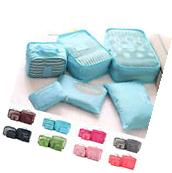 6PCS Waterproof Clothes Travel Storage Bags Packing Cube