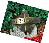 Whitehall Weathered Bronze Sun Clock Sundial - 00563