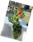 WEDDING Luau Tropical Palm Leaves Table Runner MAKE IT WITH
