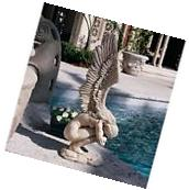 Weeping Angel Statue Crying Sculpture Outdoor Patio Yard