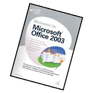 Welcome to Microsoft Office 2003