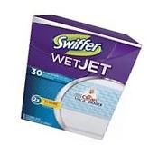 Swiffer Wet Jet Extra Power Pad Refills - 30 ct