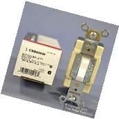New Cooper White COMMERCIAL 4-Way Toggle Wall Light Switch