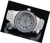 Mens Jewelry Unlimited White Gold Steel Simulated Lab