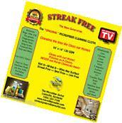 Streak Free White Microfiber MultiPurpose Cleaning Cloths