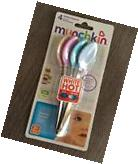Munchkin White Hot Safety Spoons Baby Feeding Stainless