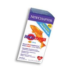 New Chapter - WHOLEmega 500 mg 90 gel