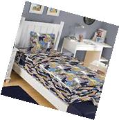 Zipit Bedding Wild Animals 3 Piece Reversible Bed-In-A-Bag