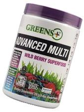 Greens Plus Wild Berry Burst High ORAC Blend of Green