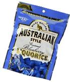 Kenny's Wiley Wallaby Liquorice Blueberry 10 Ounce NEW FREE