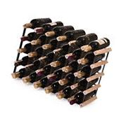 Wine Rack 30 Bottle Timber Complete Wooden Wine Storage