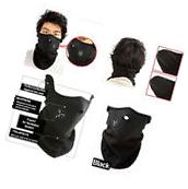 Winter Neoprene Half Face Mask With Filter Cycling
