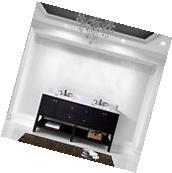 """72"""" Winterfell Double Bathroom Vanity Espresso/White Marble/"""