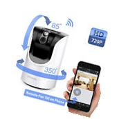 Zmodo 720p HD Wireless Pan Tilt IP Network IR Home