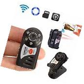 Wireless Spy Nanny Mini security hidden Cam camera with DVR