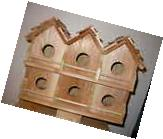 Wood 6 Room Deluxe Purple Martin Bird House  FREE SHIPPING