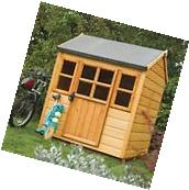 Children's Outdoor Wood Play House Summer Fun Outside